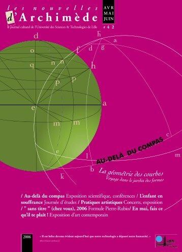 'A r c h i m è d e - Espace culture de l'université de Lille 1