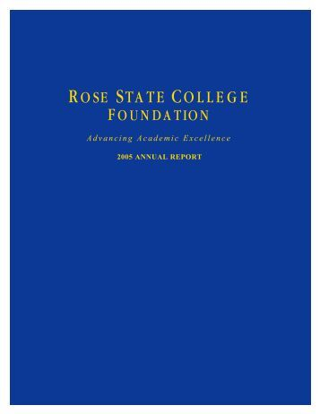 2005 - Rose State College