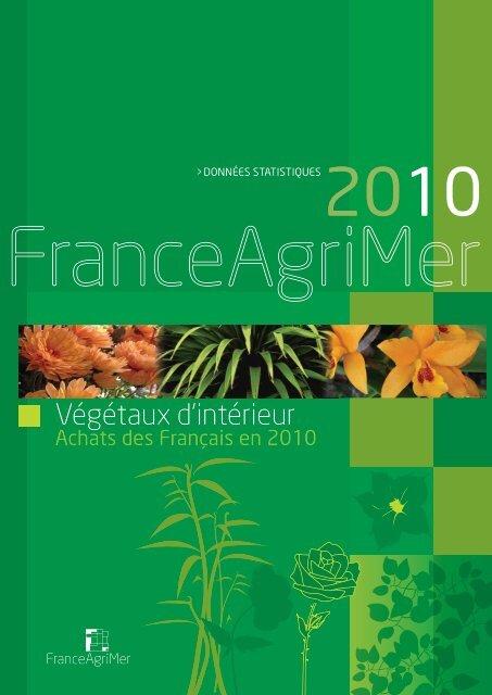 Végétaux d'intérieur - Achats des Français en 2010 - FranceAgriMer