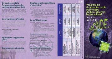 lien - Commission scolaire de la Seigneurie-des-Mille-Îles