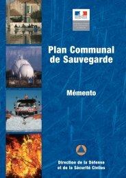 Plan Communal de Sauvegarde - Risques Majeurs et Environnement