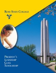 Application - Rose State College