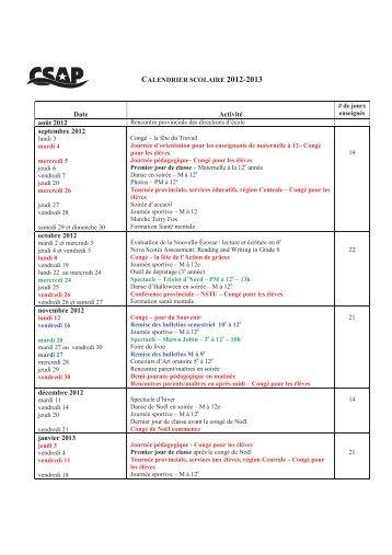 Date Activité août 2012 septembre 2012 octobre 2012 novembre ...
