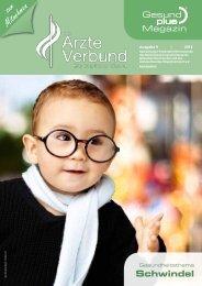 AEVON - GesundPlus Magazin, Themenschwerpunktschwindel