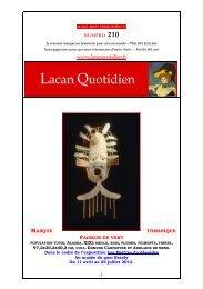 masque - Lacan Quotidien