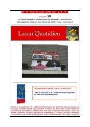 LQ 50 - Lacan Quotidien