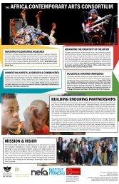 Africa Consortium Brochure - MAPP International Productions