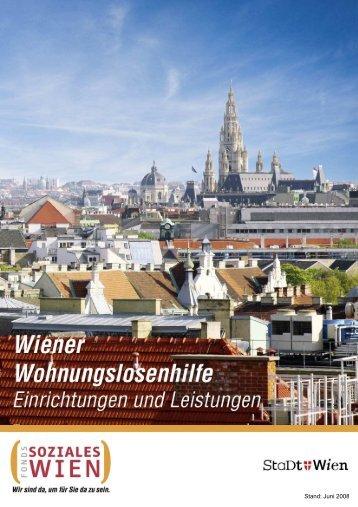 Stand: Juni 2008 - Wohnen - Fonds Soziales Wien