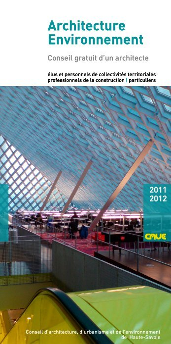 Architecture Environnement Architecture Environnement