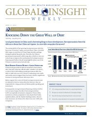 Global Insight Weekly - RBC Wealth Management USA