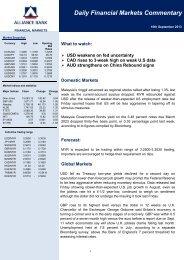 10 Sept 2013 - Alliance Bank Malaysia Berhad