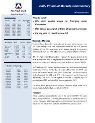 30 Sept 2013 - Alliance Bank Malaysia Berhad