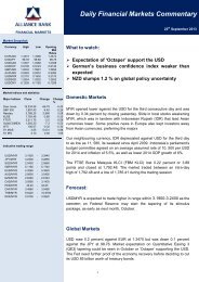 25 Sept 2013 - Alliance Bank Malaysia Berhad