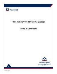 100% Rebate* Credit Card Acquisition Terms & Conditions
