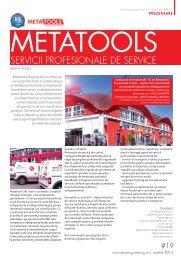 Metatools, servicii profesionale de service