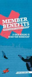 10 GREAT REASONS TO RETAIN YOUR ... - CASI-ACMS