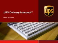 UPS Powerpoint Presentation Template