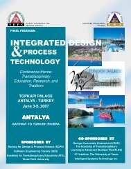 INTEGRATED DESIGN - Xputer Lab Configware Engineering for ...