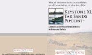 Keystone XL tar sands pipeline