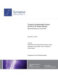 Toward a Sustainable Future for the US Power Sector - Civil Society ...