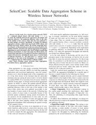 SelectCast: Scalable Data Aggregation Scheme in Wireless Sensor ...