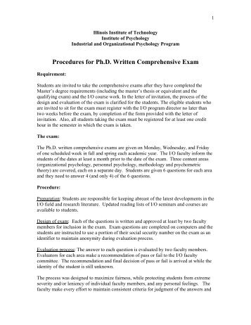 Dissertation comprehensive exam questions in education