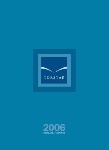 2006 Annual Report - TorStar
