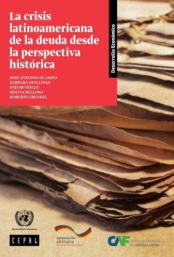 La crisis latinoamericana de la deuda desde la perspectiva histórica