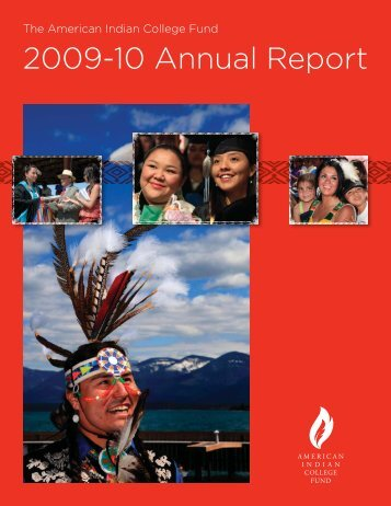 2009-10 Annual Report - American Indian College Fund