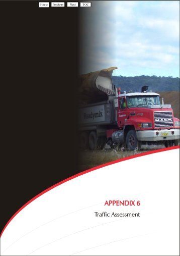 Appendix 6 - Traffic Assessment - Holcim