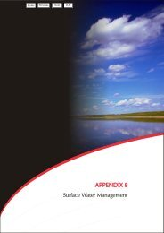 Appendix 8 - Surface Water Management - Holcim