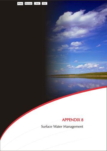 Appendix 8 - Surface Water Management - Holcim