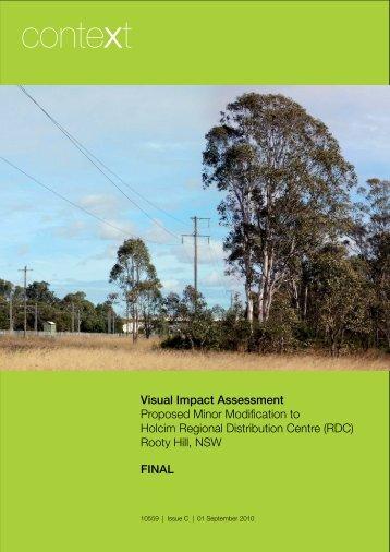 Visual Impact Assessment - Holcim
