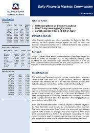 17 Sept 2013 - Alliance Bank Malaysia Berhad