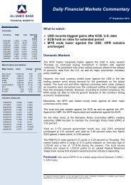 6 Sept 2013 - Alliance Bank Malaysia Berhad