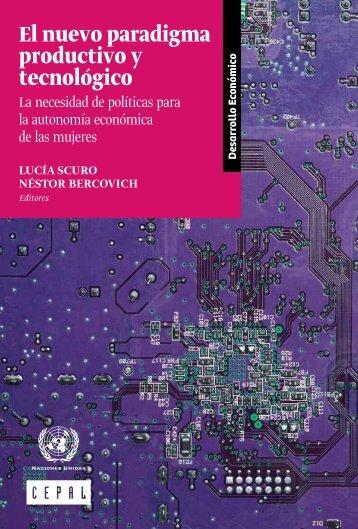 El nuevo paradigma productivo y tecnológico: la necesidad de políticas para la autonomía económica de las mujeres
