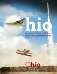 Aerospace, Aviation, and Defense - JobsOhio