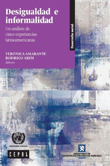 Desigualdad e informalidad: un análisis de cinco experiencias latinoamericanas