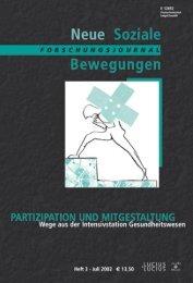 Vollversion (9,93 MB) - Forschungsjournal Neue Soziale Bewegungen