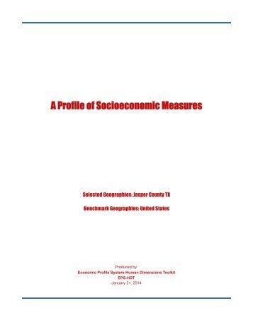 48241 - Jasper County TX Measures - Headwaters Economics