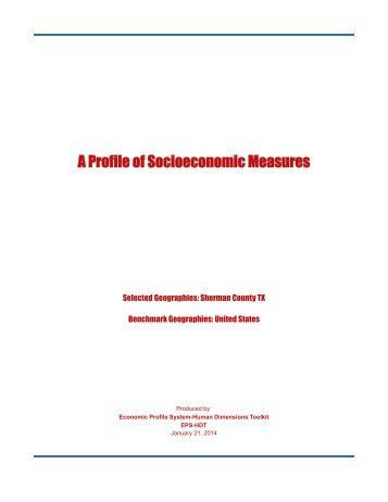 48421 - Sherman County TX Measures - Headwaters Economics