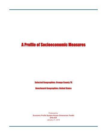 48361 - Orange County TX Measures - Headwaters Economics