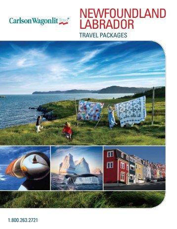 Newfoundland/Labrador Flyer - CWT - Anderson Vacations