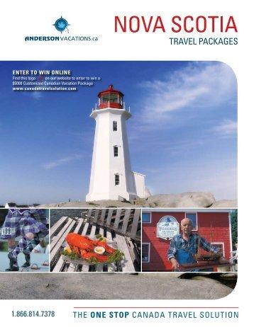 NOVA SCOTIA - Anderson Vacations
