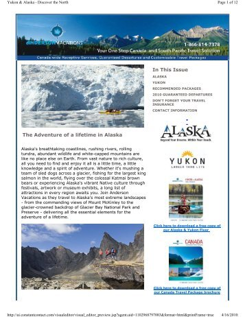 Alaska and the Yukon - Discover the North - February 2010