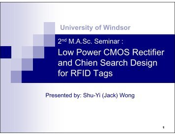 Low Power CMOS Rectifier and Chien Search Design and Chien ...