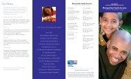 At a Glance - Metropolitan Family Services