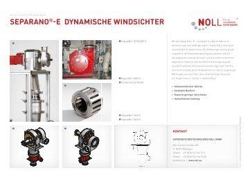 separano® e dynamische windsichter - Schüttgutveredelung NOLL ...