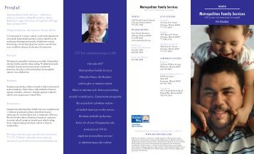 Przegląd - Metropolitan Family Services
