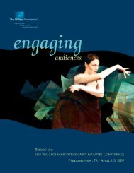 Engaging Audiences [PDF] - The Wallace Foundation